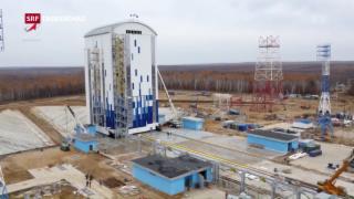 Video «Russische Rakete in Sibirien» abspielen