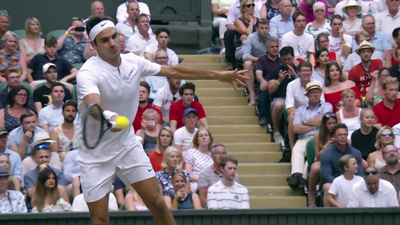 Federer weist Zverev in die Schranken
