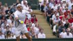 Video «Federer weist Zverev in die Schranken» abspielen
