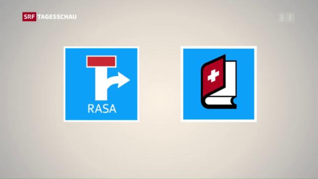 Video «Gegenvorschläge des Bundesrats zu Rasa-Initiative» abspielen