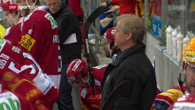 Video «Eishockey: Tigers trennen sich von Coach Gustafsson» abspielen