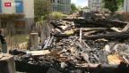 Video «Yverdon: Brandstifter gefasst» abspielen