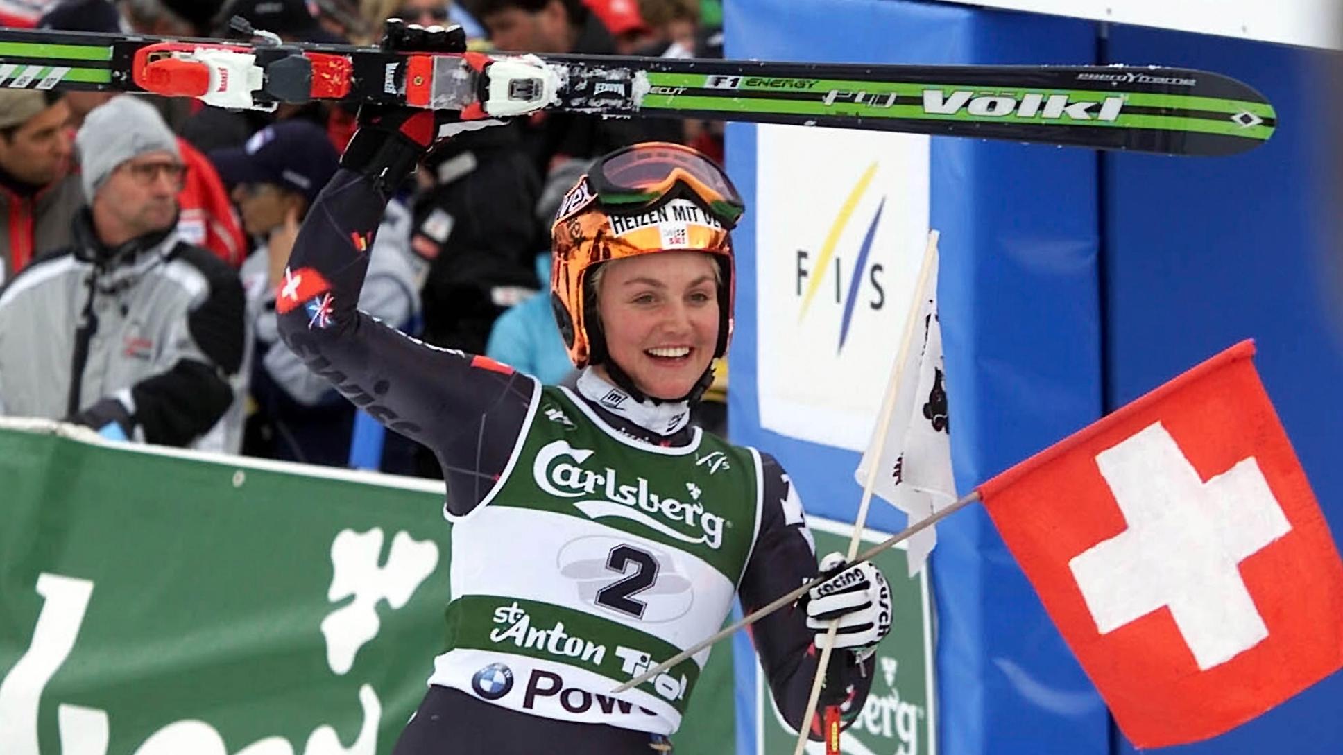 Sonja Nef blickt auf Riesenslalom-Gold 2001 zurück