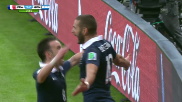 Video «2. Tor Benzema» abspielen