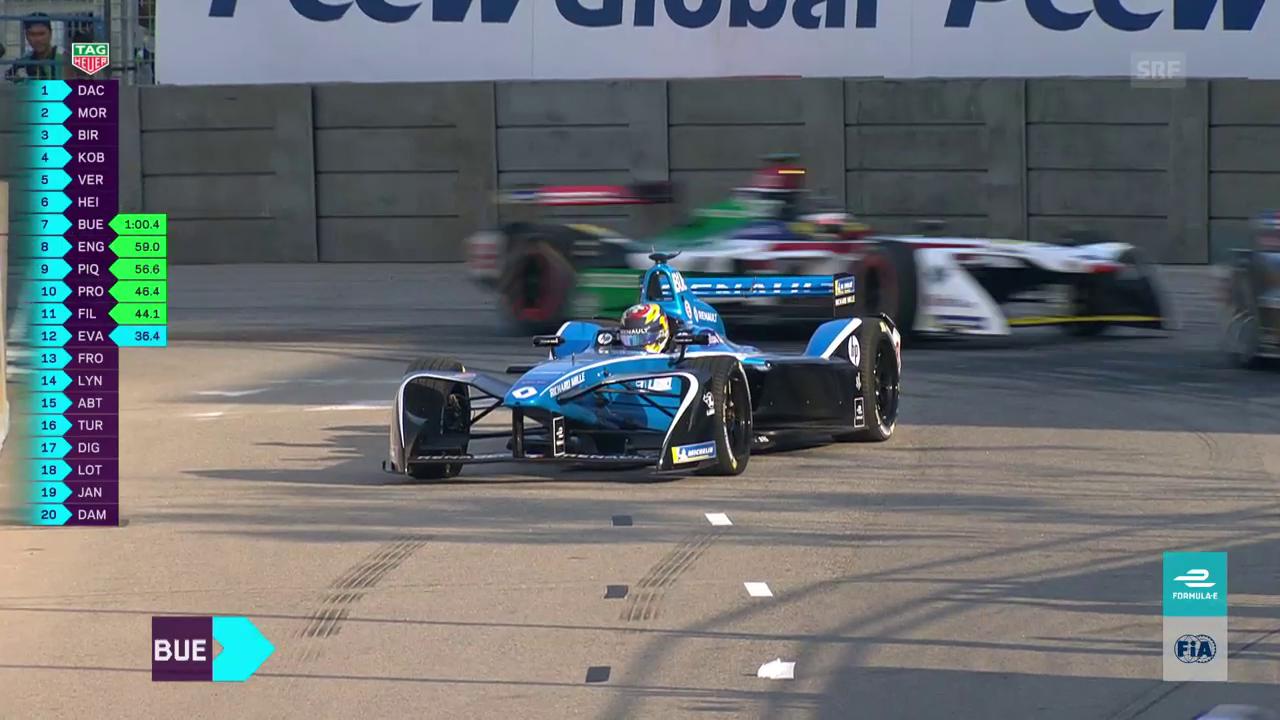 Buemi im Pech: Missglückter Formel-E-Saisonstart