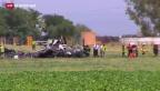 Video «Airbus im Süden Spaniens abgestürzt» abspielen