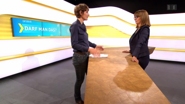 Video «Auflösung SMS-Abstimmung mit Rechtsexpertin Gabriela Baumgartner» abspielen