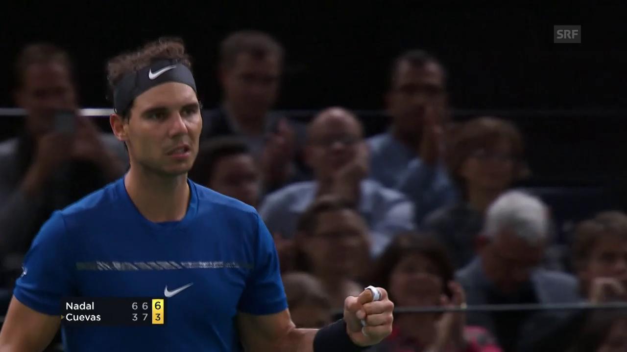 Nadal - Cuevas: Die wichtigsten Punkte