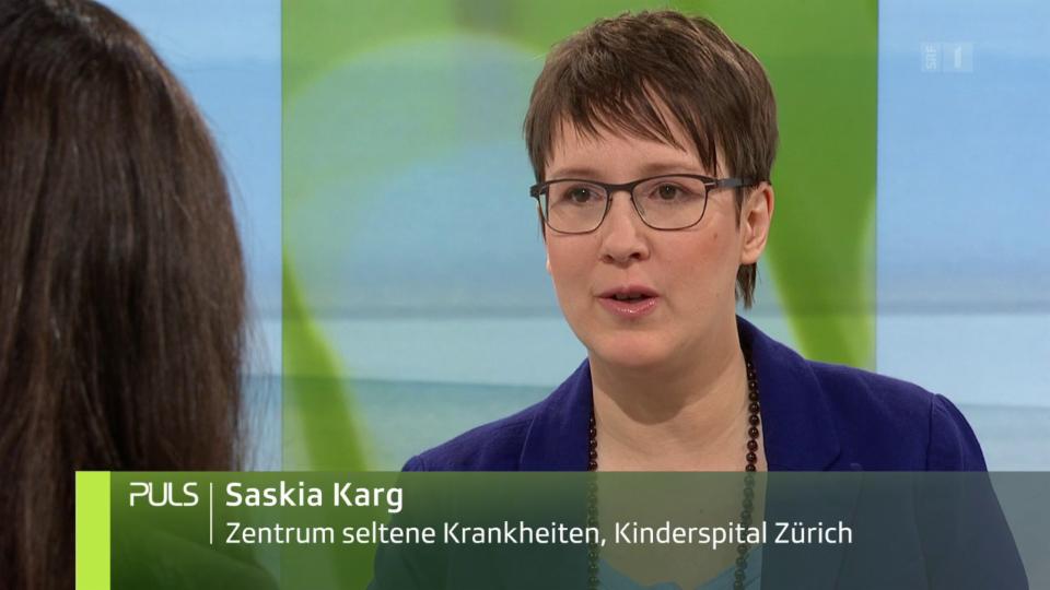 «Viele Betroffene trauen sich nicht, sich zu wehren.» Studiogespräch mit Saskia Karg, Projektleiterin für seltene Krankheiten am Kinderspital Zürich.