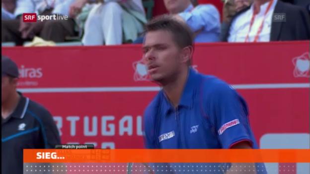 Video «Tennis: Wawrinka-Elias» abspielen