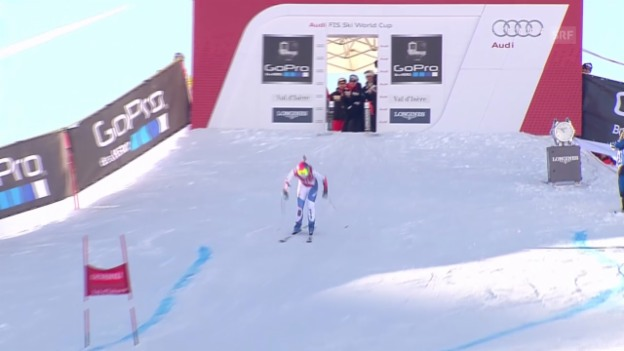 Video «Ski alpin: Weltcup in Val 'Isère, Super-G, Dominique Gisin» abspielen
