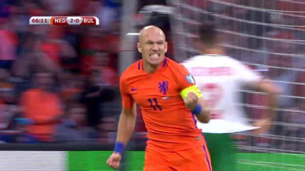 Video «Zusammenfassung Niederlande - Bulgarien» abspielen