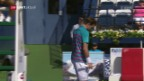 Video «Titelverteidiger Wawrinka scheitert in Dubai schon in Runde 1» abspielen