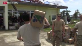 Video ««USS George Washington» beschleunigt Hilfe auf den Philippinen» abspielen