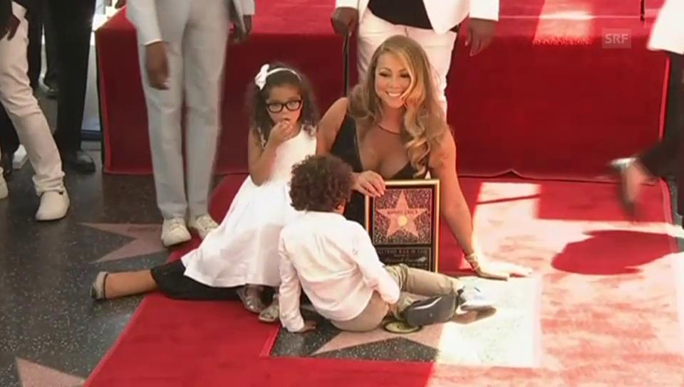 Star und Sternchen: Mariah Carey mit ihren Kindern