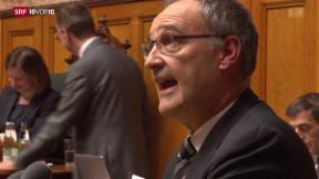 Video «Parmelin – bundesrätliche Premiere im Parlament» abspielen