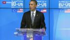 Video «Obama zu Gast bei der EU» abspielen