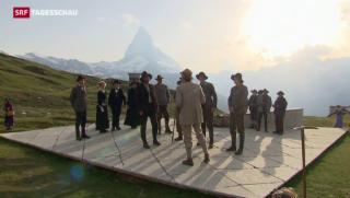 Video «Das Matterhorn auf der Theaterbühne » abspielen