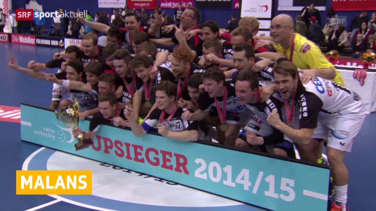 Unihockey: Malans mit 4. Cupsieg