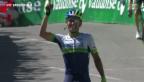 Video «Tour de Suisse: Johan Chaves siegt in Verbier» abspielen