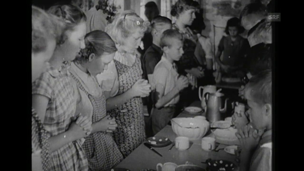 Pestalozzi Kinderdorf (Schweizer Filmwochenschau, 31.8.1951)