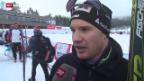 Video «Langlauf: Weltcup in Lillehammer, 15 km Männer Verfolgung» abspielen