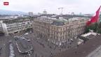 Video «Bundesrätin Widmer-Schlumpf erwägt stärkere Kapitalpuffer» abspielen