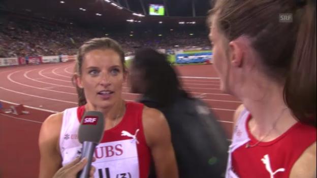 Video «Die Sprunger-Schwestern im Interview («sportlive»)» abspielen