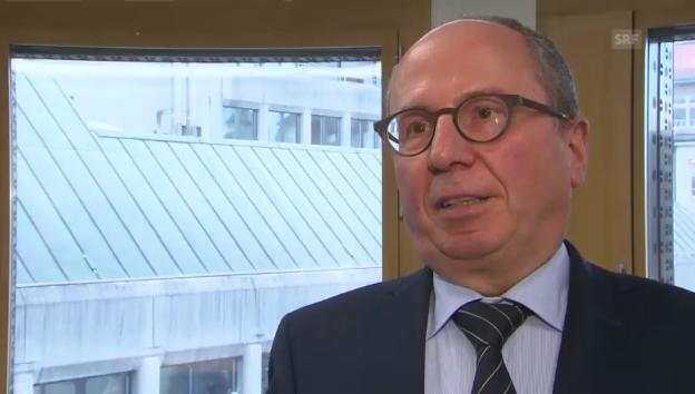 Video «Der St. Galler Polizeidirektor kritisiert den Entscheid» abspielen