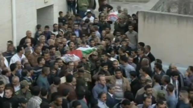 Beerdigungen im Westjordanland (unkommentiert)