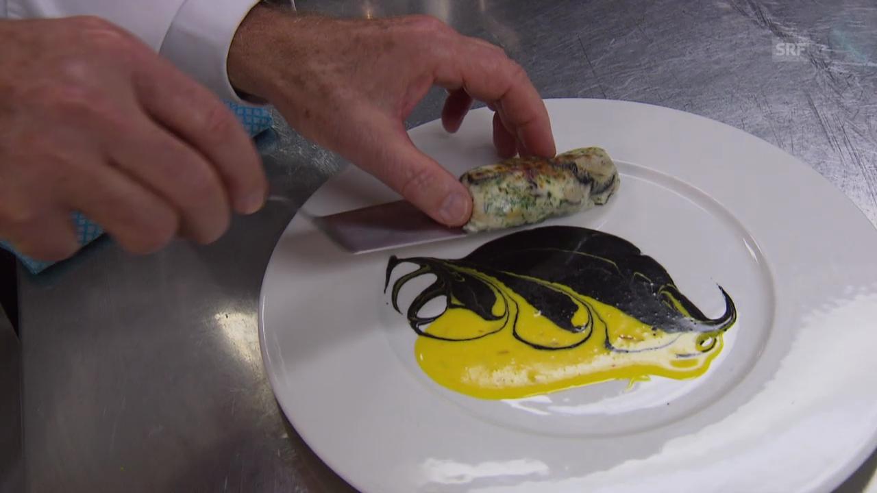 «Landfrauenküche» Finale: Mosimanns Austernwurst
