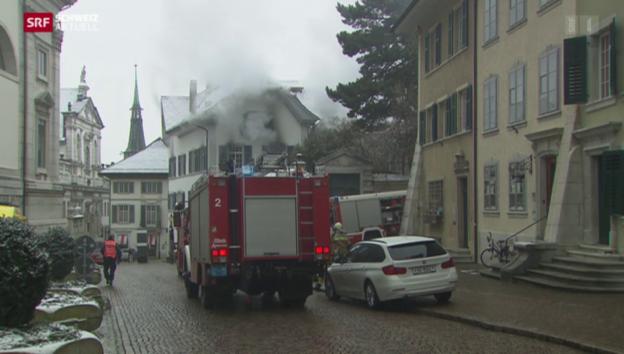 Video «Brand in historischem Haus» abspielen