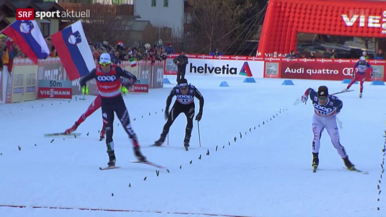 Langlauf: Weltcup-Sprint in Toblach