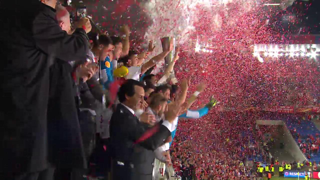 Sevillas Triumph über Liverpool