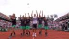 Video «Schwartzmann bringt Djokovic ins Schwitzen» abspielen