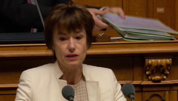 Video «Ruth Humbel (CVP/AG): «Sektor tut sich schwer mit Digitalisierung»» abspielen