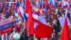Video «Weltweit gehen Hunderttausende auf die Strassen» abspielen