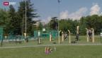 Video «In Genf hat die Stadtverwaltung Fitness-Geräte mitten in verschiedenen Parks aufgestellt. Sie sind fix installiert und zu jeder Tages- und Nachtzeit für alle zugänglich - gratis und franko.» abspielen