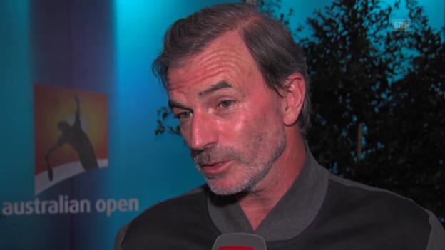 Video «SRF-Experte Heinz Günthardt über die Leistung der Schweizer an den Australian Open» abspielen