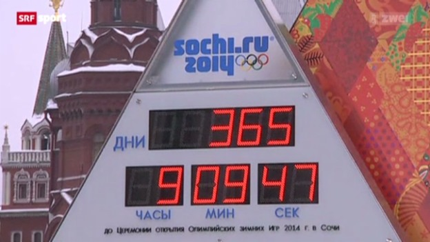 Video «Olympische Spiele Sotschi 2014» abspielen