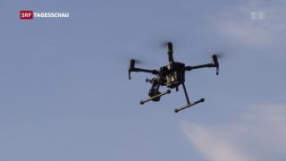 Video «Schärfere Regeln für Drohnen gefordert» abspielen