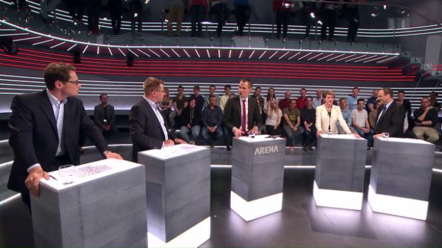 Video «Abstimmungs-Arena: Asylgesetzrevision» abspielen