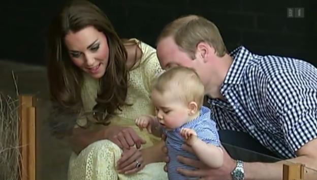 Video «Herzogin Kate wieder schwanger» abspielen