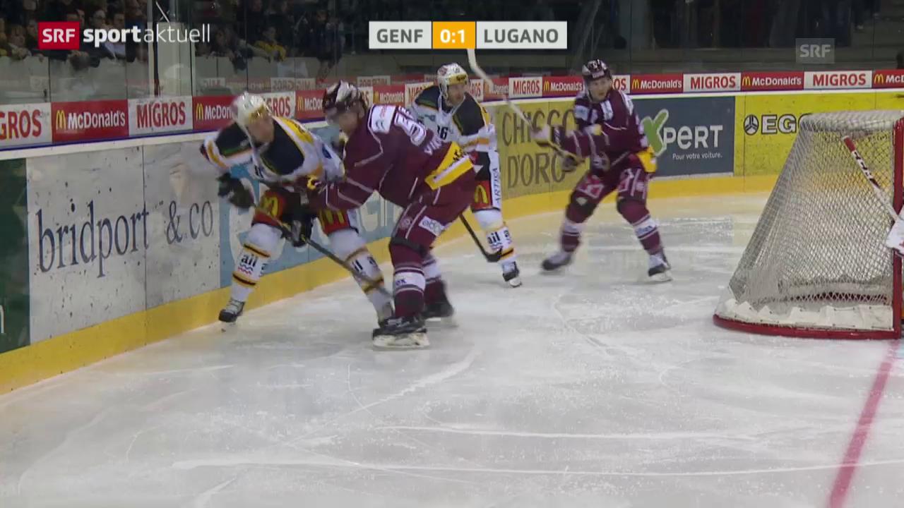 Eishockey: NLA, Genf - Lugano