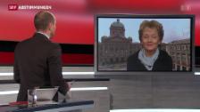 Video «Gespräch mit Bundesrätin Eveline Widmer-Schlumpf» abspielen