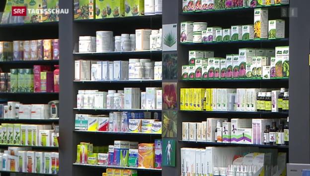 Video «Bundesrat berechnet Medikamente neu» abspielen