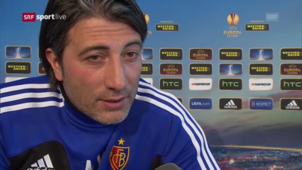 Video «Basel vor dem Halbfinal gegen Chelsea» abspielen