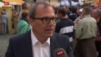 Video «SRF-Korrespondent Roger Brunner: «Die Krise kommt»» abspielen