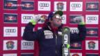 Video «Feuz verpasst knapp Kitzbühel-Sieg» abspielen