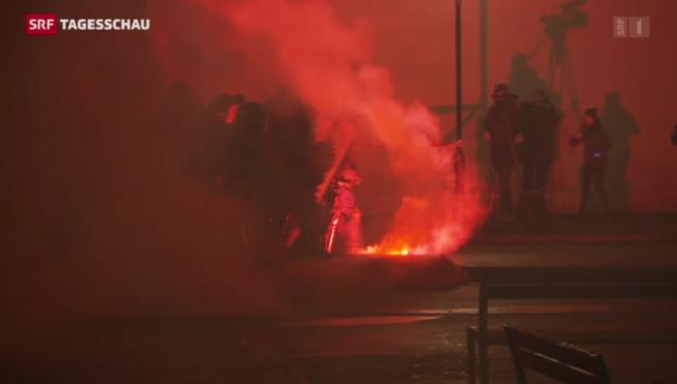 Video «Aufstände nach OSZE-Treffen» abspielen